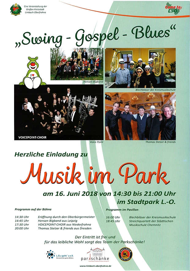 Plakat Stadtpark Open Air